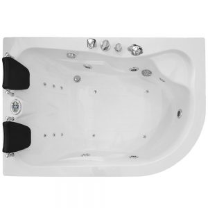 MO-0205 LEWA Wanna łazienkowa SPA z hydromasażem 170X115X58cm