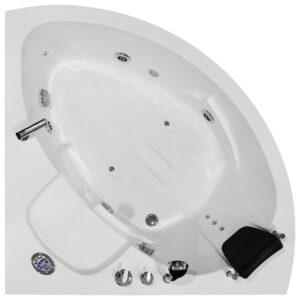 MO-0313 Wanna łazienkowa SPA z hydromasażem 135X135X53cm