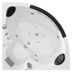 MO-0322 Wanna łazienkowa SPA z hydromasażem 135X135X62cm