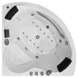 MO-1001 TURBO Wanna łazienkowa SPA z hydromasażem 140X140X68cm