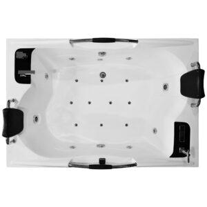 MO-1097B Wanna łazienkowa SPA z hydromasażem 180X120X59cm