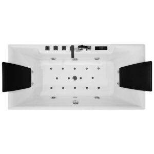MO-1100B Wanna łazienkowa SPA z hydromasażem 170X80X63cm