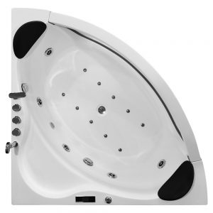 MO-1243 Wanna łazienkowa SPA z hydromasażem 150X150X59cm