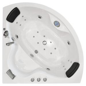 MO-1636 Wanna łazienkowa SPA z hydromasażem 135X135X63cm