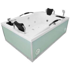 MO-1097W Wanna łazienkowa SPA z hydromasażem 180X120X59cm
