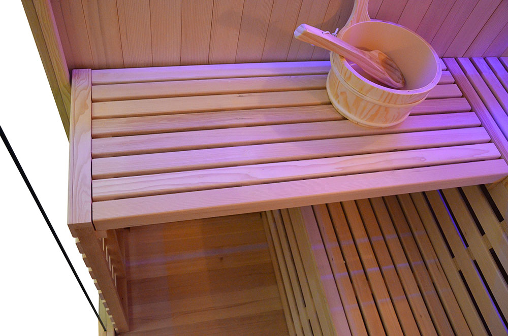 M-SPA - Suchá sauna s pecou EA3 150 x 150 x 200 cm