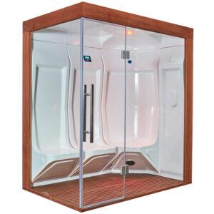 MUE-200ST-W3 Sauna parowa 118X195X210CM