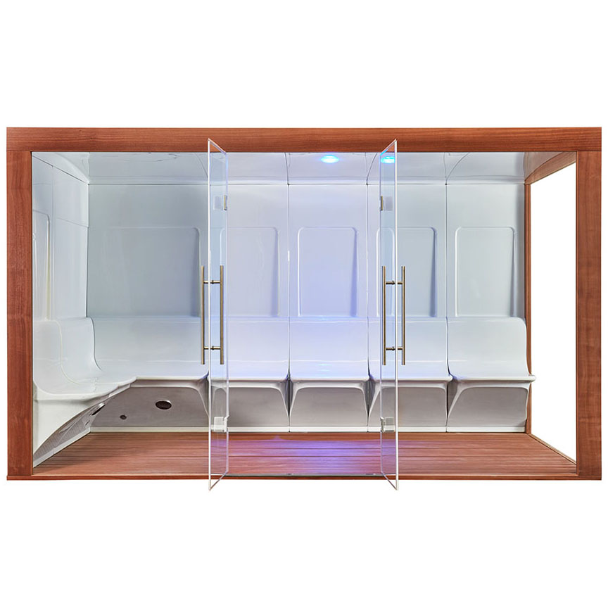 M-SPA - Parná sauna 374 x 179 x 210 cm