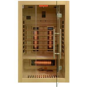MO-EA2R Sauna na podczerwień 121X106X192CM