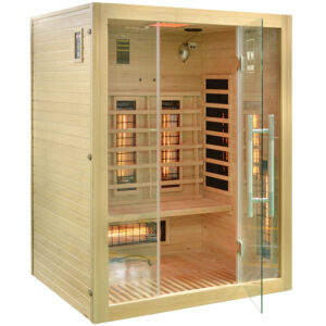MO-EA3R Sauna na podczerwień 150X120X190CM