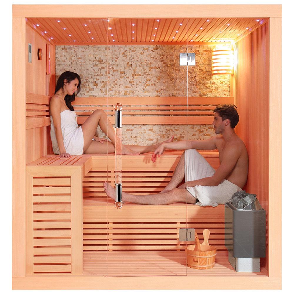 M-SPA - Suchá sauna s rúrou 220 x 200 x 210 cm