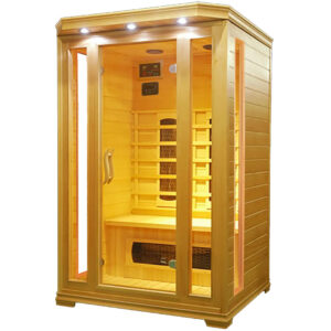 MO-C2 Sauna na podczerwień 120X120X190CM