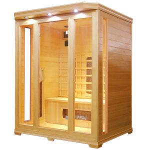 MO-C3 Sauna na podczerwień 153X125X190CM