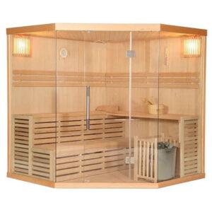 MO-EA5C Sauna sucha z piecem 200X200X200CM