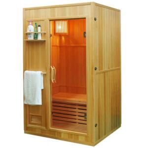 MO-EN2 Sauna sucha z piecem 121X106X192CM