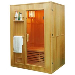 MO-EN3 Sauna sucha z piecem 154X110X192CM