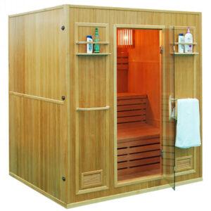 MO-EN4 Sauna sucha z piecem 176X150X192CM