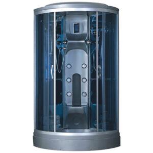 MO-0210G SREBRNA Kabina prysznicowa z hydromasażem 100X100X220CM