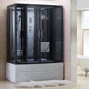 MO-0505-150 Kabina prysznicowa z hydromasażem 150X85X220CM