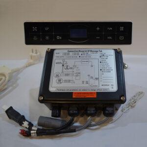 Sterownik + panel dotykowy do wanny z hydromasażem