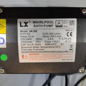 Pompa wodna do wanny ogrodowej SPA JA100 700W
