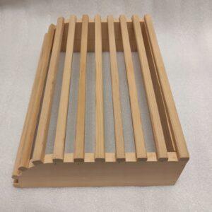 Zagłówek do sauny drewno sauna