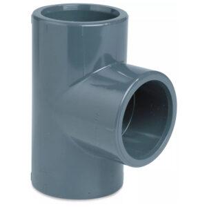 Trójnik trojak PVC fi 26 mm rozmiar europejski
