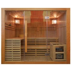 MO-EA4 Sauna sucha z piecem 200 x 180 x 200 cm