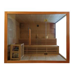 MO-EA4 Sauna sucha z piecem 220 x 200 x 200 cm