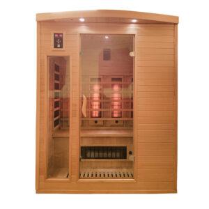 MO-CP3 Sauna na podczerwień 153 x 125 x 191 cm