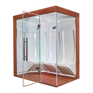 MUE-200ST-W3 Sauna parowa LEWA 118X195X210CM