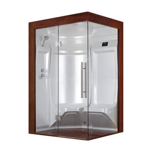 MUE-200ST-W2 Sauna parowa LEWA 135X118X210CM